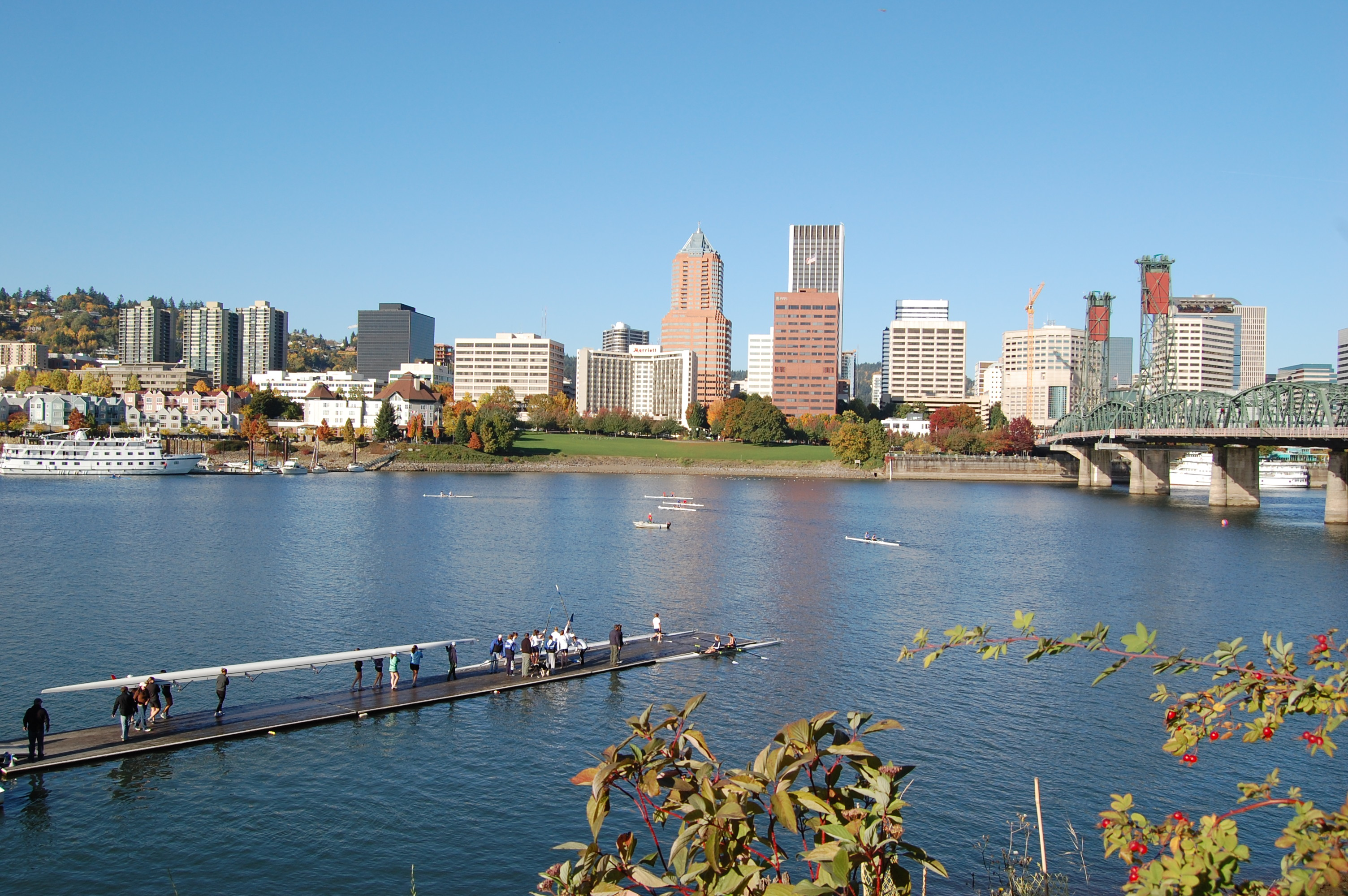 Portland Boathouse Dock during the Portland Fall Classic 2008